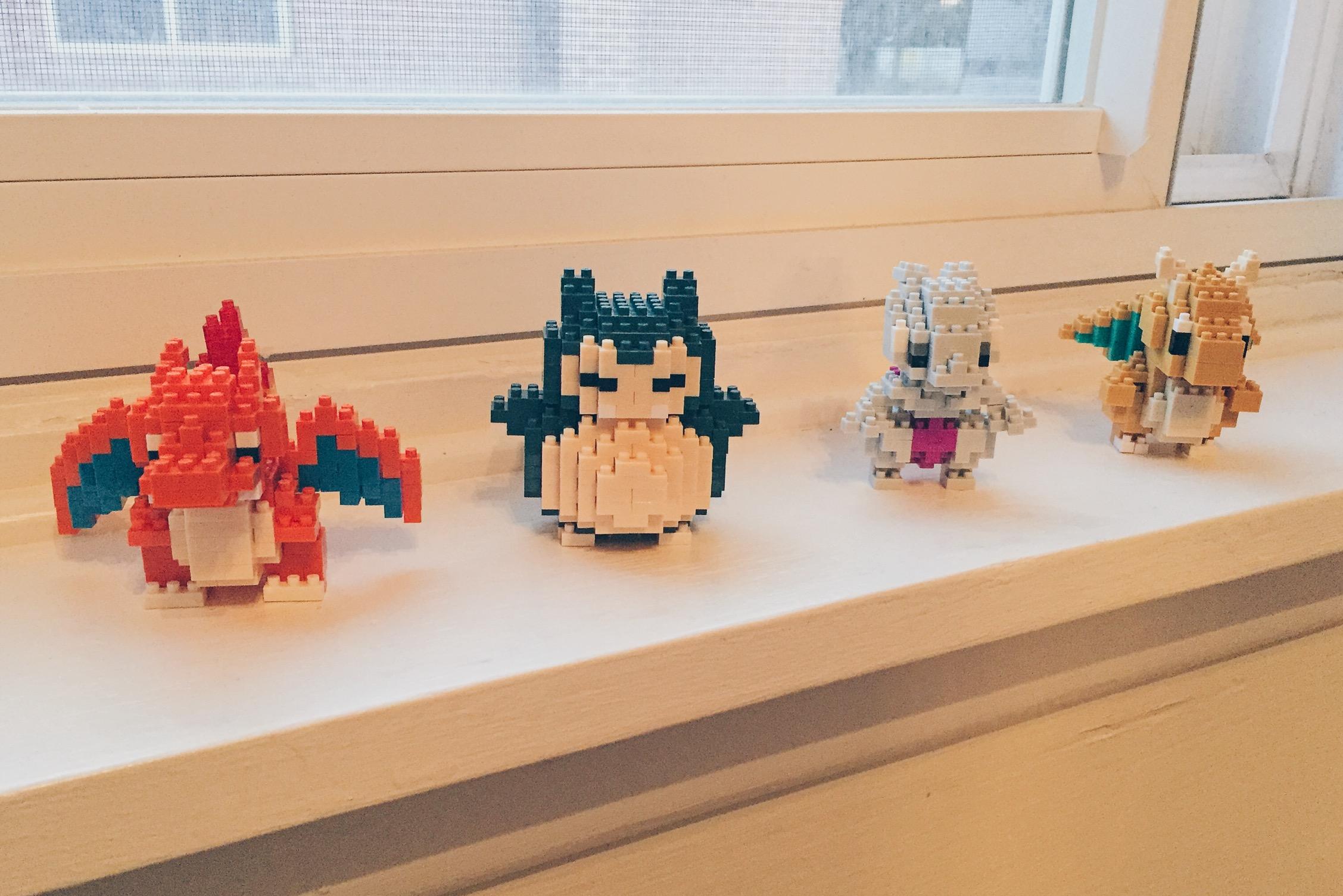 Pokémon Nanoblocks - Snorlax. Dragonite, Mewtwo, Charizard - helloteri
