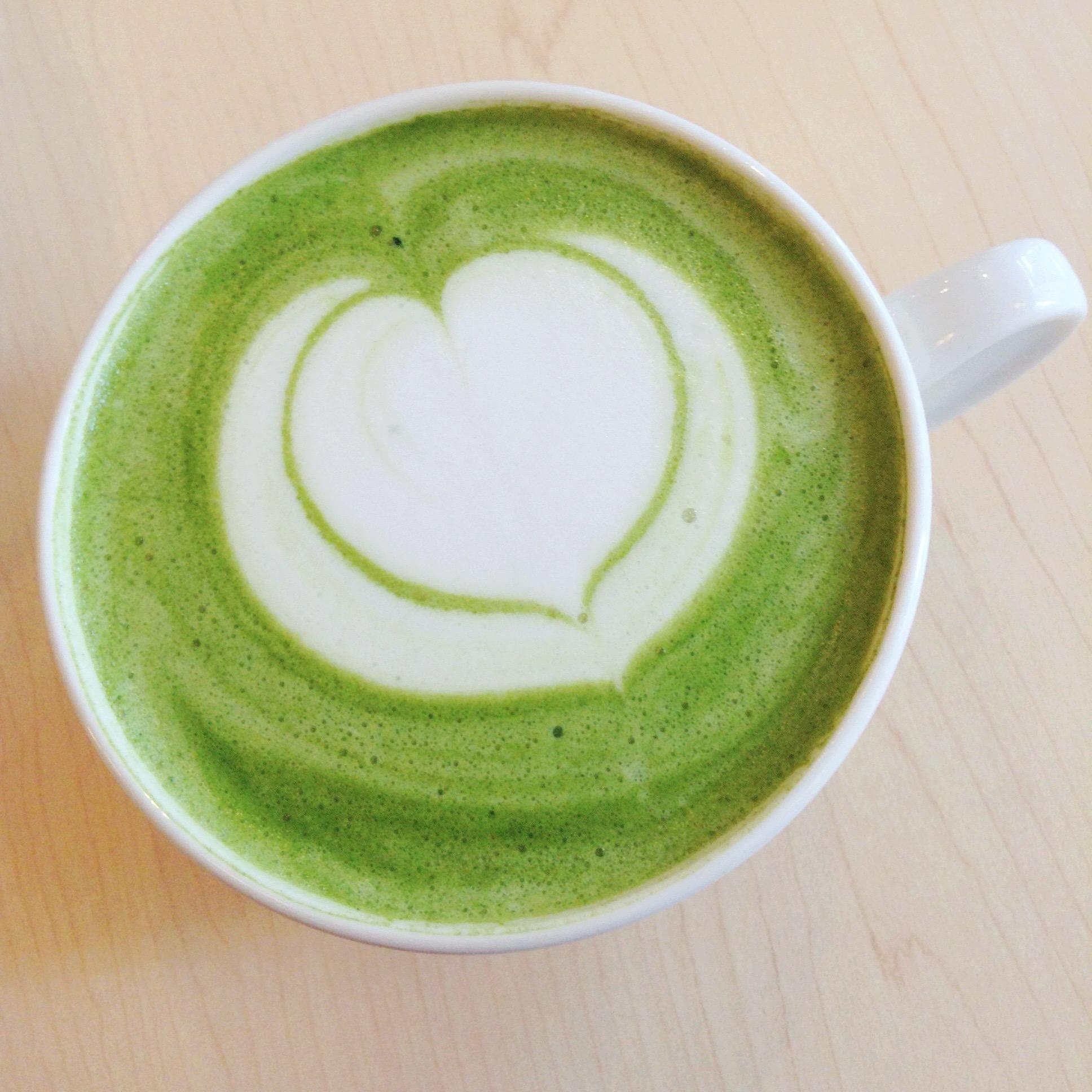 Pastel Creperie & Dessert House - Green Tea Latte - HELLOTERI