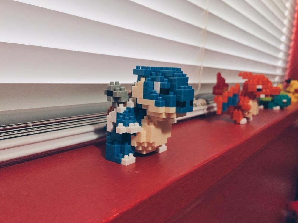 Pokémon Nanoblocks - Blastoise/Kamex - helloteri