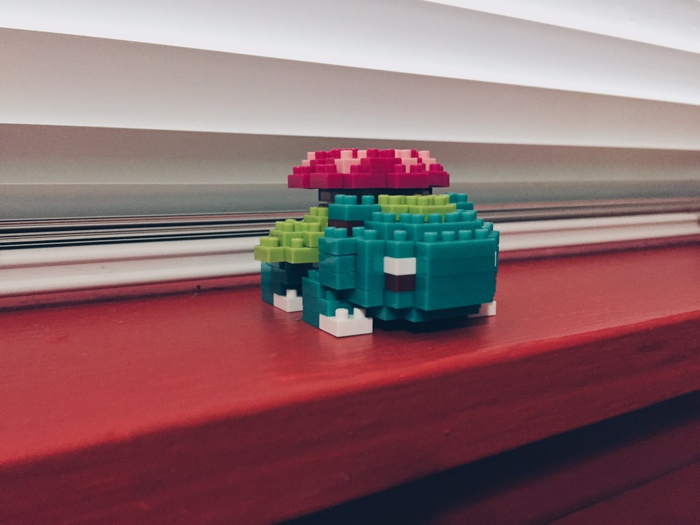Pokémon Nanoblocks - Venusaur/Fushigibana - helloteri