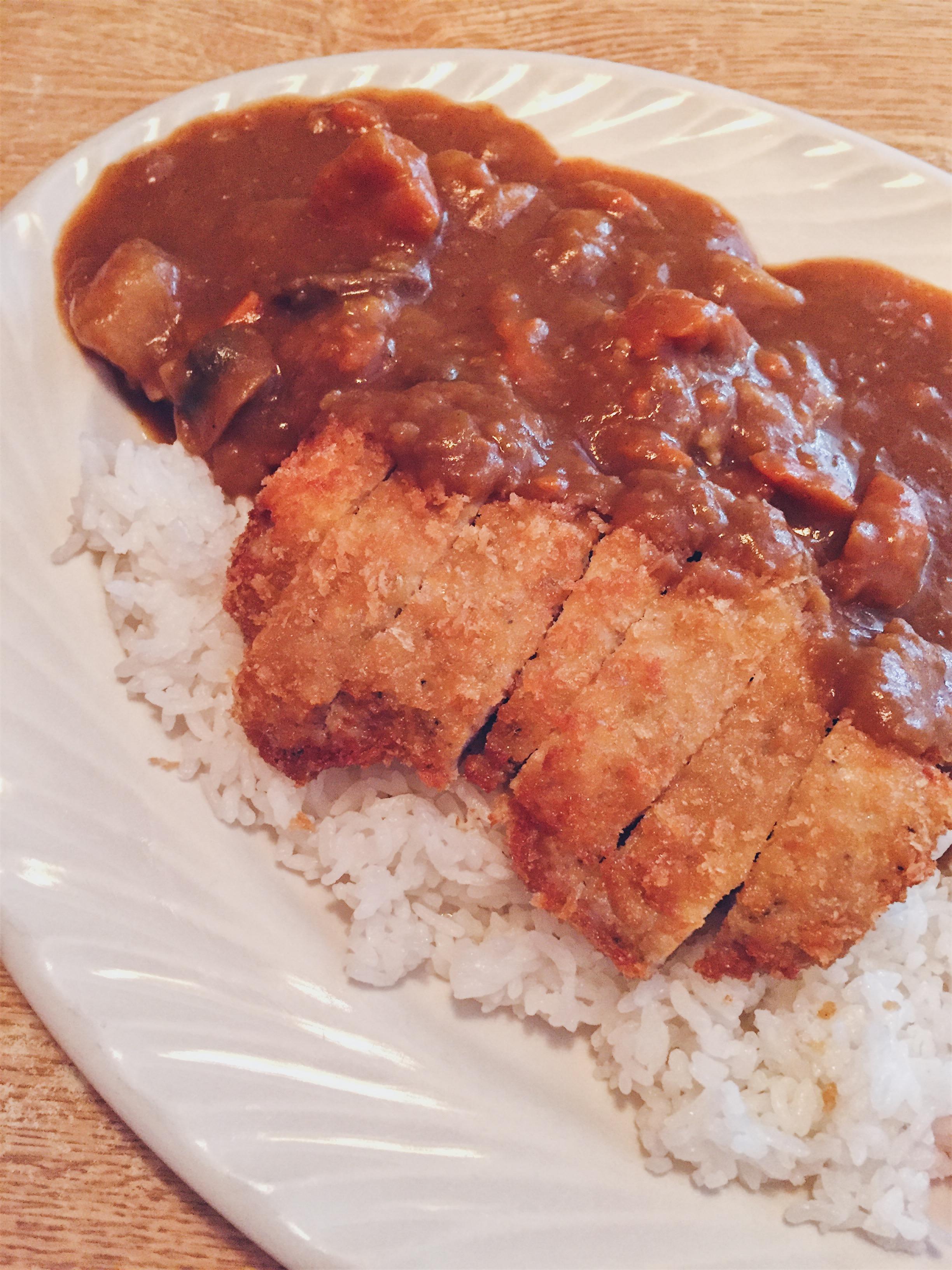 Los Angeles, USA - Suehiro Cafe - Curry Pork Katsu - helloteri