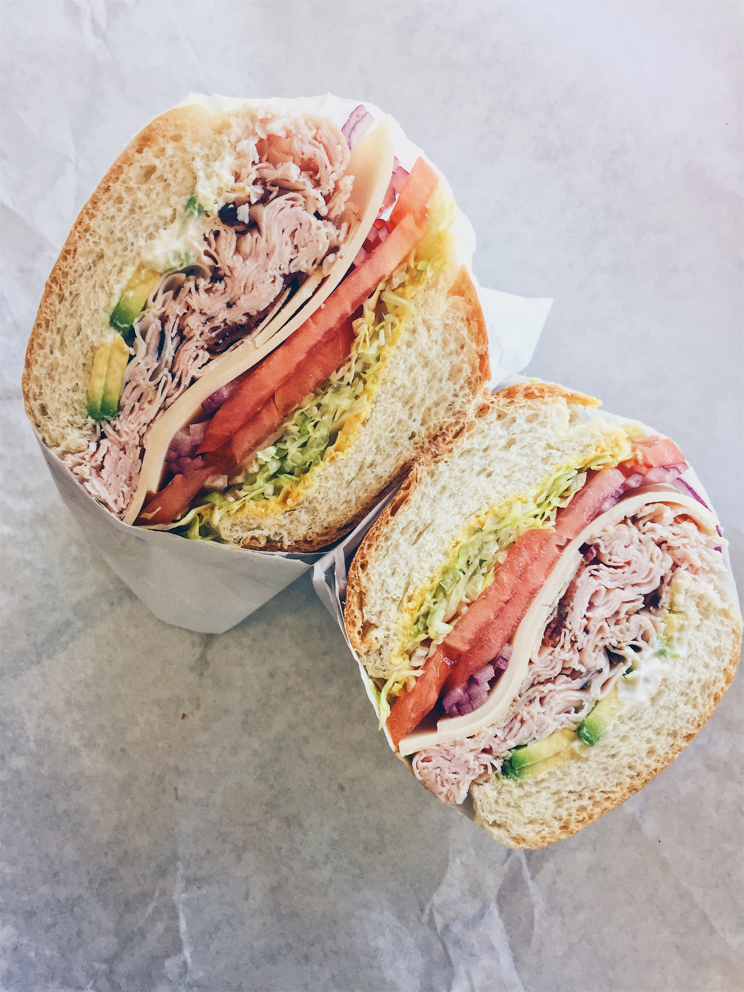 Los Angeles, USA - Mike's Deli / Boar Head - The Classic Club (Specialty Sandwiches) - helloteri